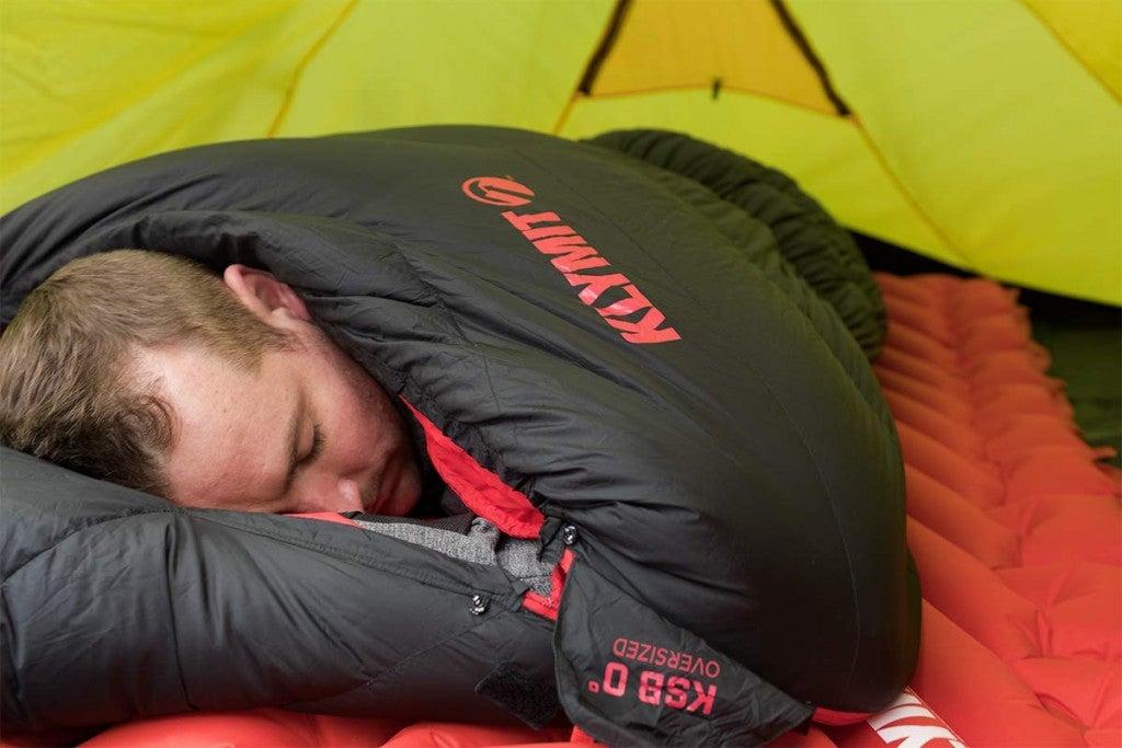 Klymit KSB 0° 4-Season Mummy Style Down Sleeping Bag