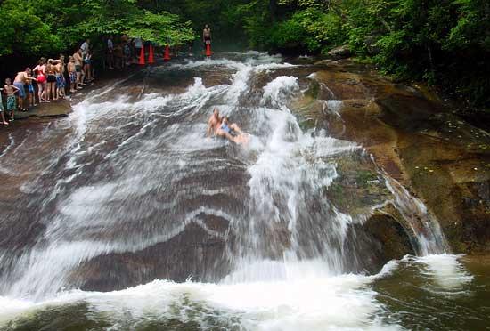 summer swimming holes in North Carolina