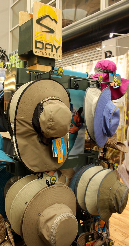 camping hats display