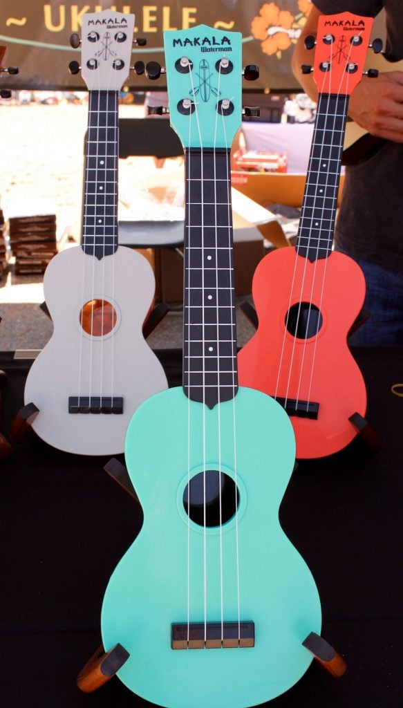 ukuleles for campfire music