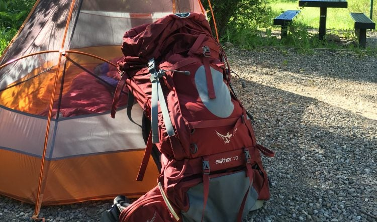 & Ranger Review: Osprey Aether 70L Pack