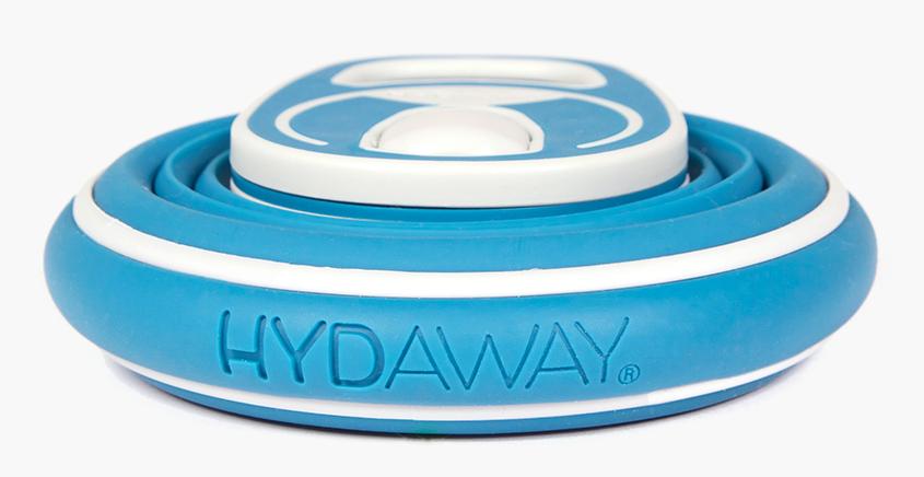 The Hydaway Bottle, ready to be hidden away.