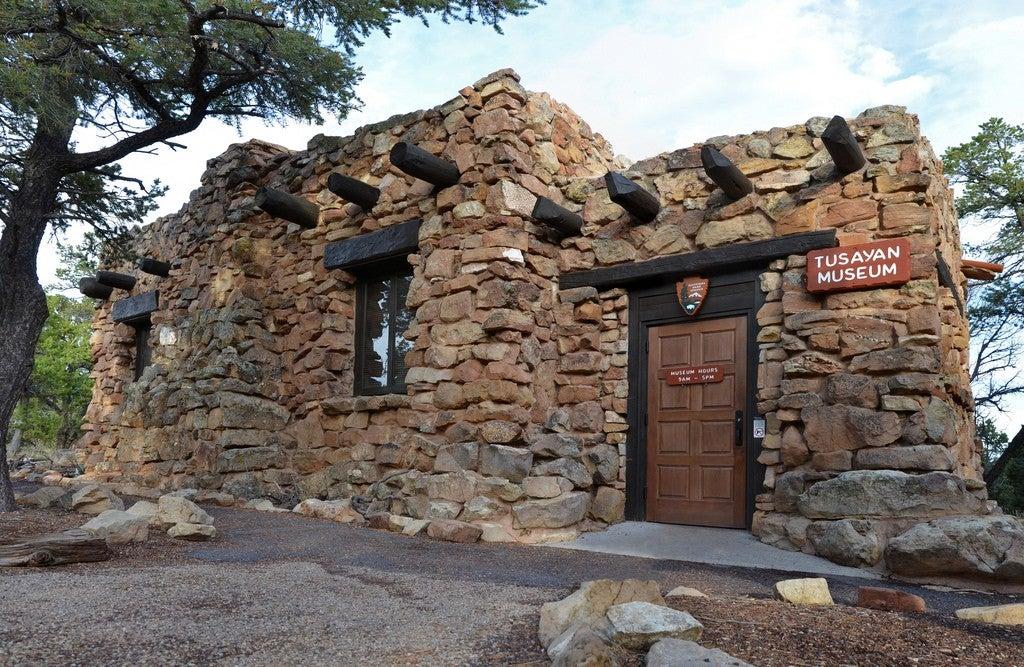 Grand Canyon Camping Museam Outside Tusayan Ruins