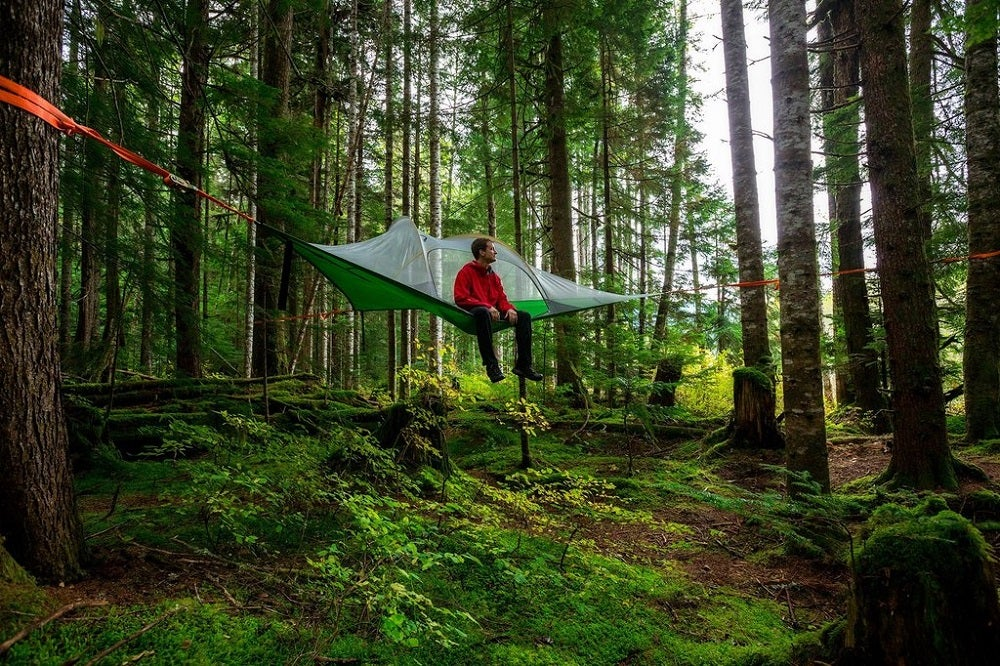 tree tent backpacking