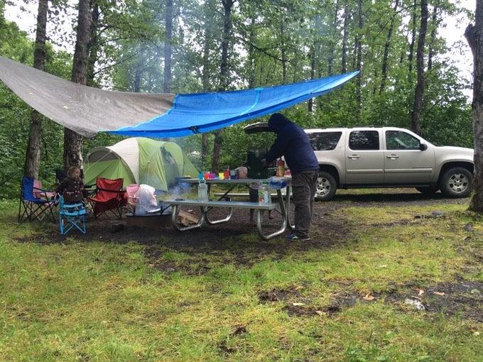 Valdez Glacier Campground