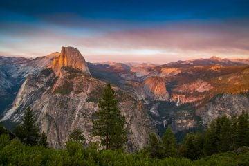 california camping yosemite