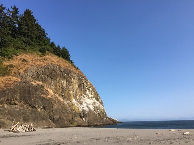 Cape disappointment pacific Northwest Camping