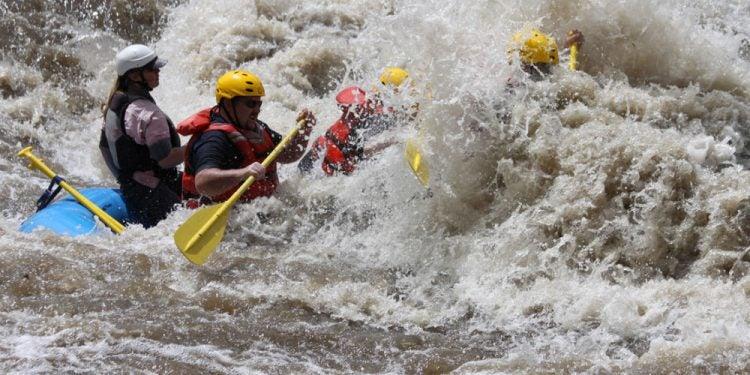 arkansas river rafting