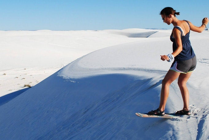 White Sand Dunes National Park
