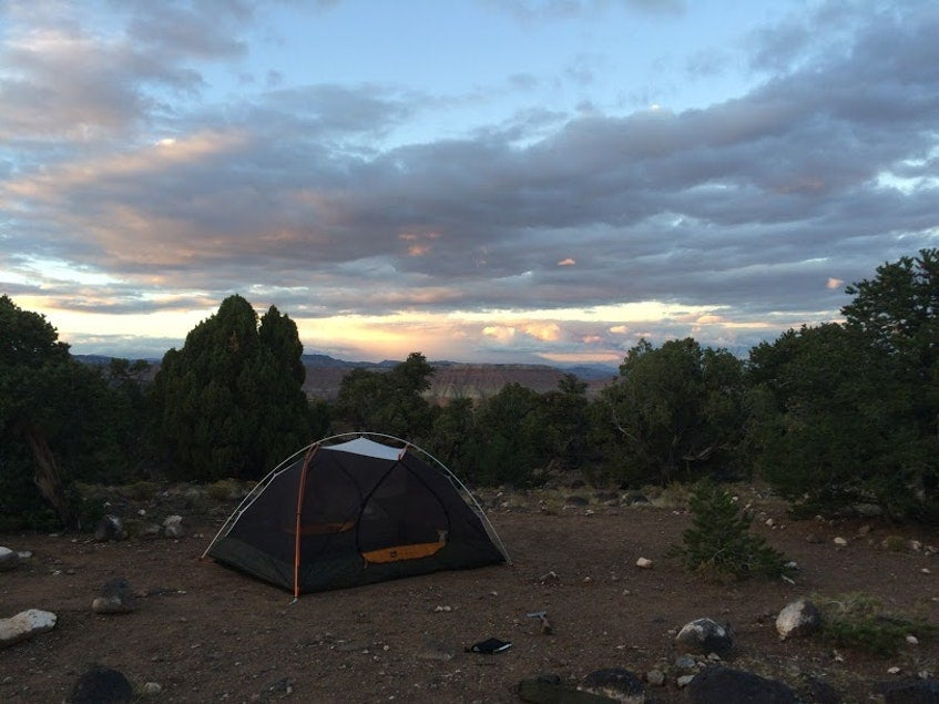 Cathedral Valley Camping near Capitol Reef