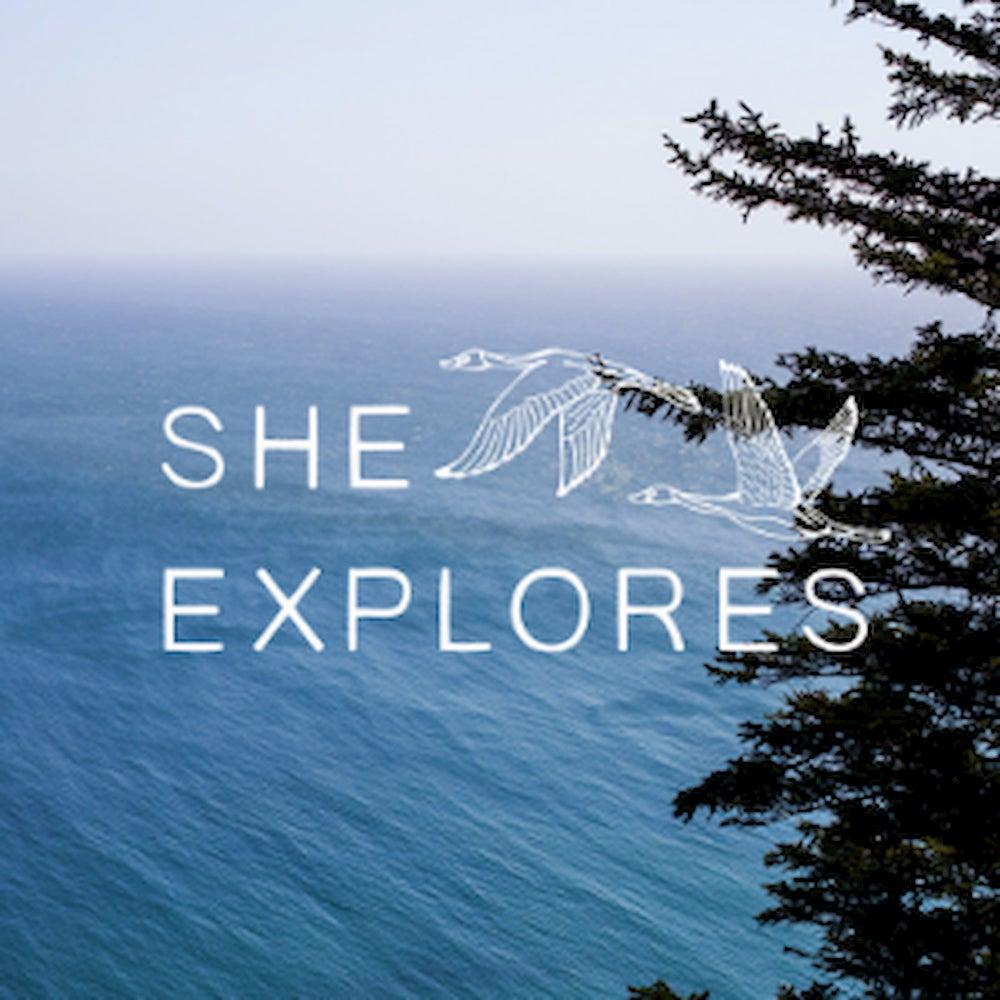 She Explores Logo