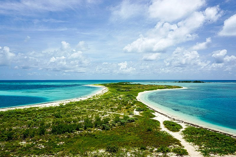 campsites in dry tortugas
