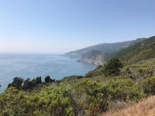 beach camping california