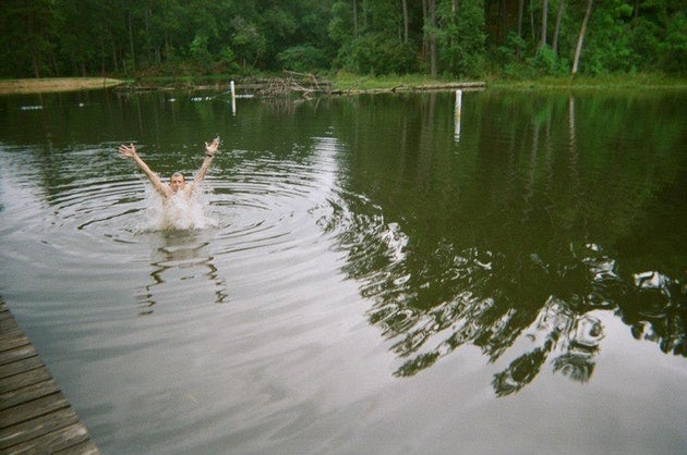 southern camping swimming hole