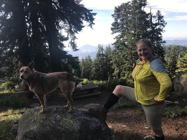 Hikers at Mt. Ashland