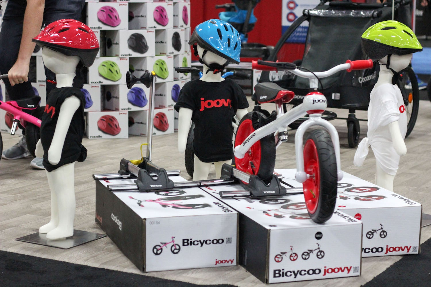 Joovy Bicycoo balance bike display