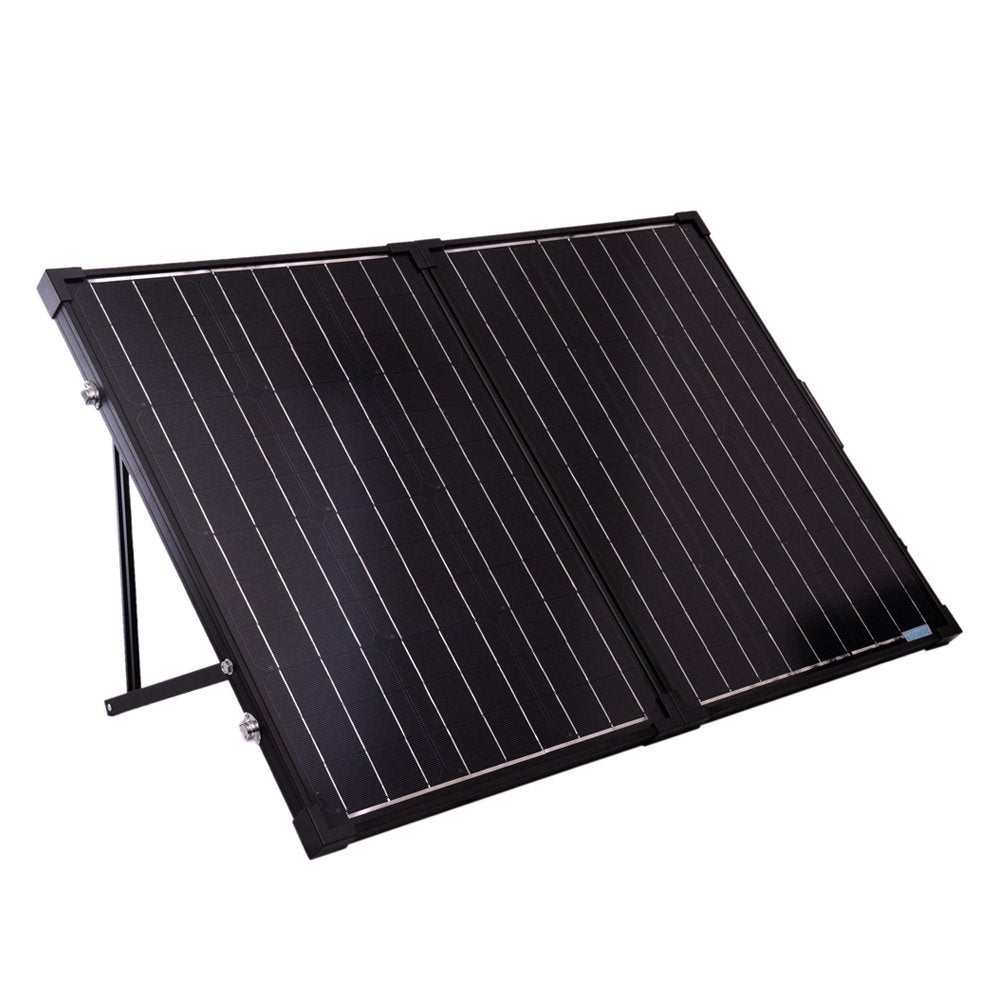 Foldable solar powered panel