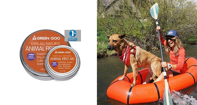Camping gear for dogs: first aid Green Goo
