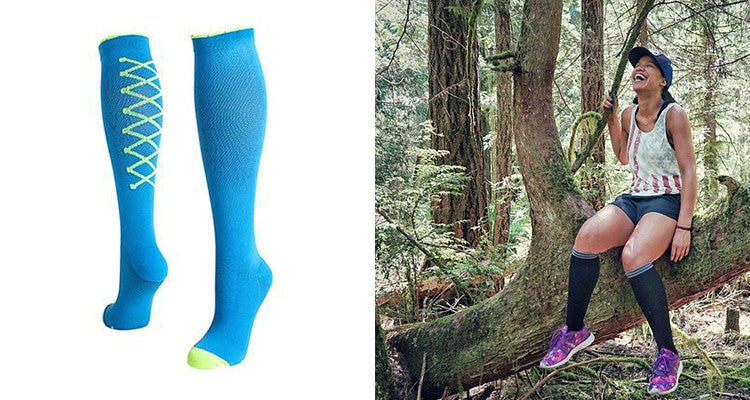 Camping gifts: compression socks