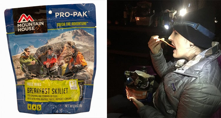 Camping gifts: Mountain House foods