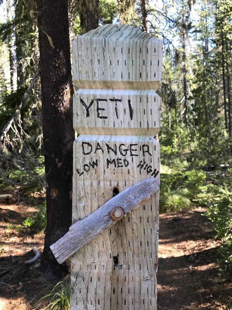 PCT signpost