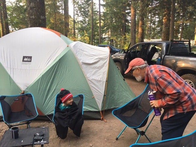 Kids camping lessons