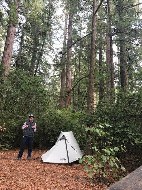 tent camping lessons