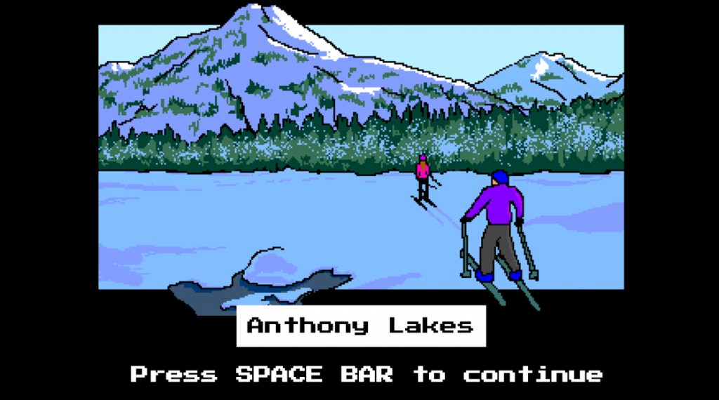 You never got to ski while playing the Oregon Trail did you?