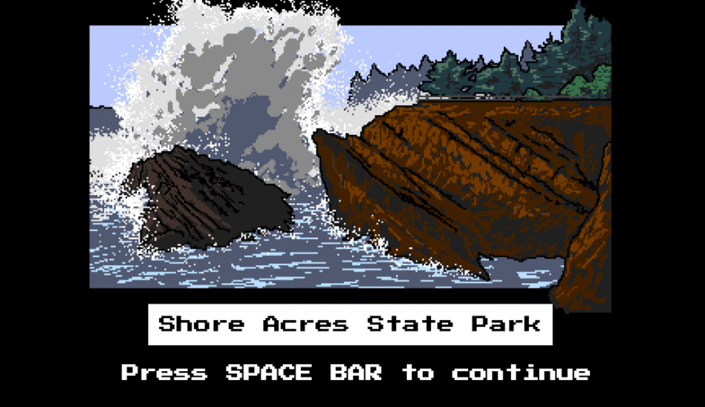 A trip down the Oregon Trail isn't complete without a trip to the coast!