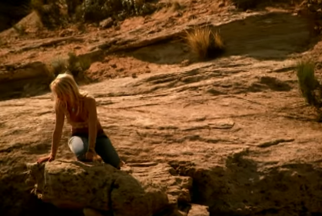 Step back from that ledge, Brit! #adventure