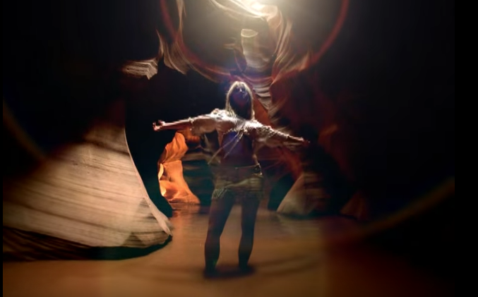 Britney brings #adventure to life in this cave.