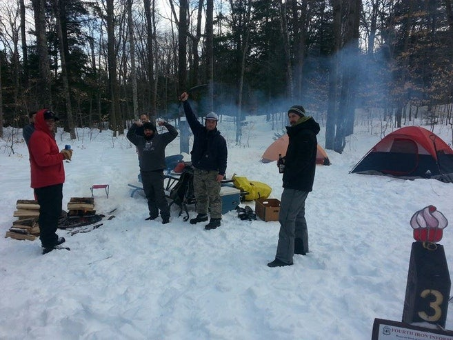 Winter camping lessons