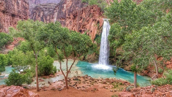 Best Desert Campgrounds: Havasu Falls
