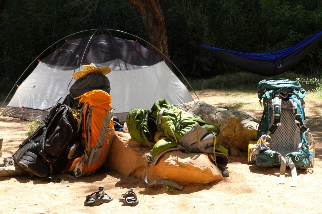 havasu falls camping gear