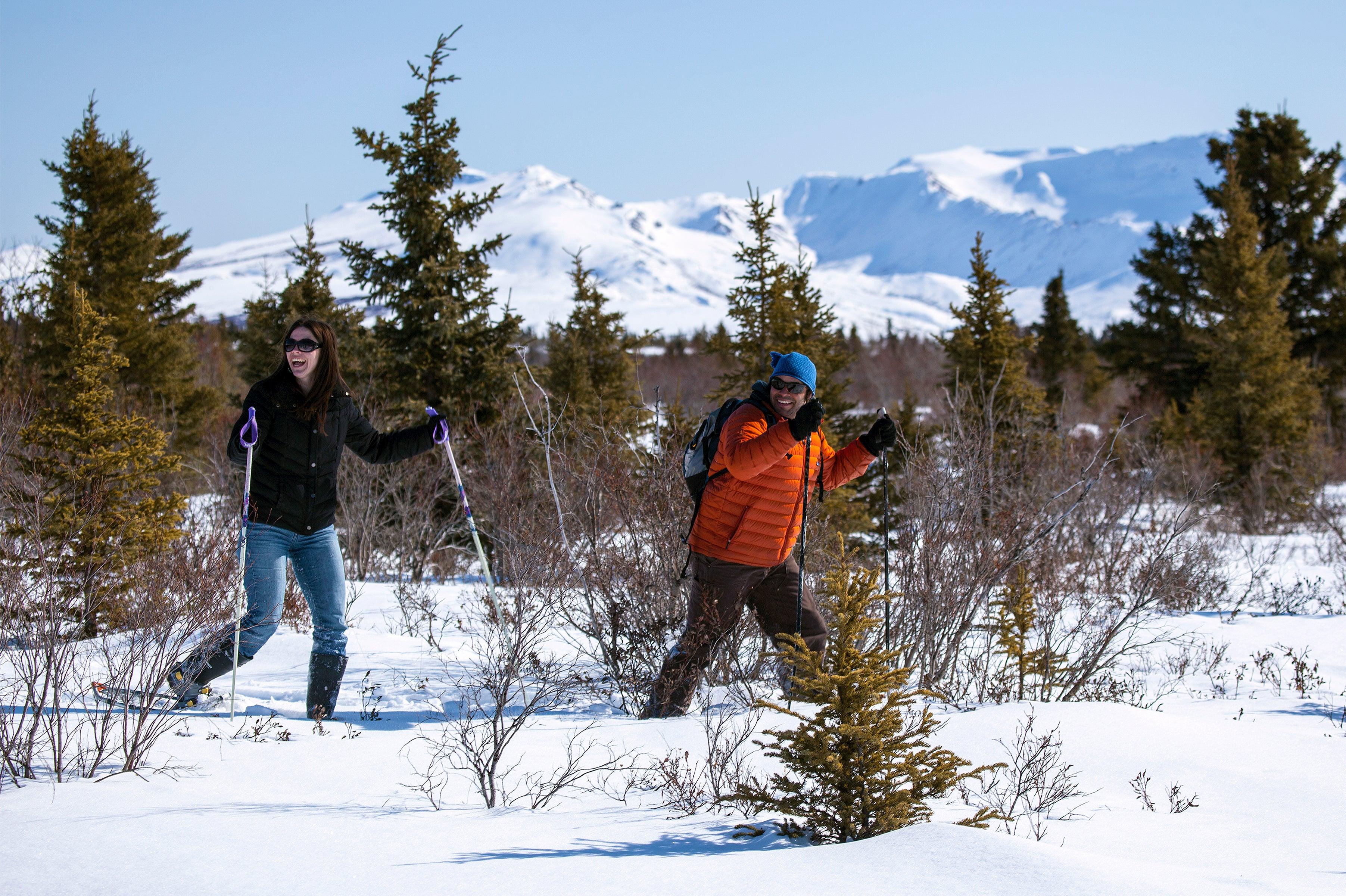 pnw snowshoeing