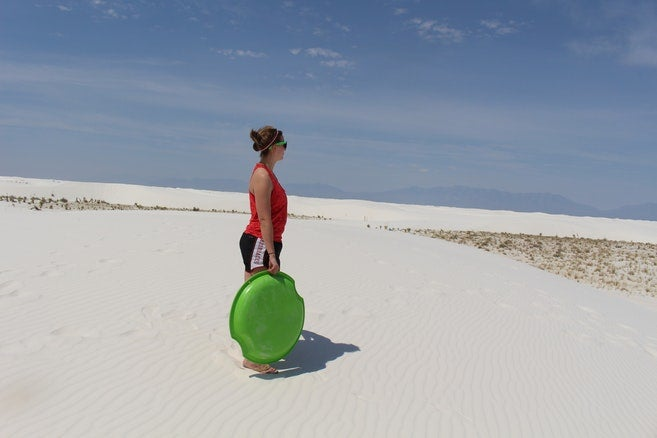 Best Desert Campgrounds: White Sands