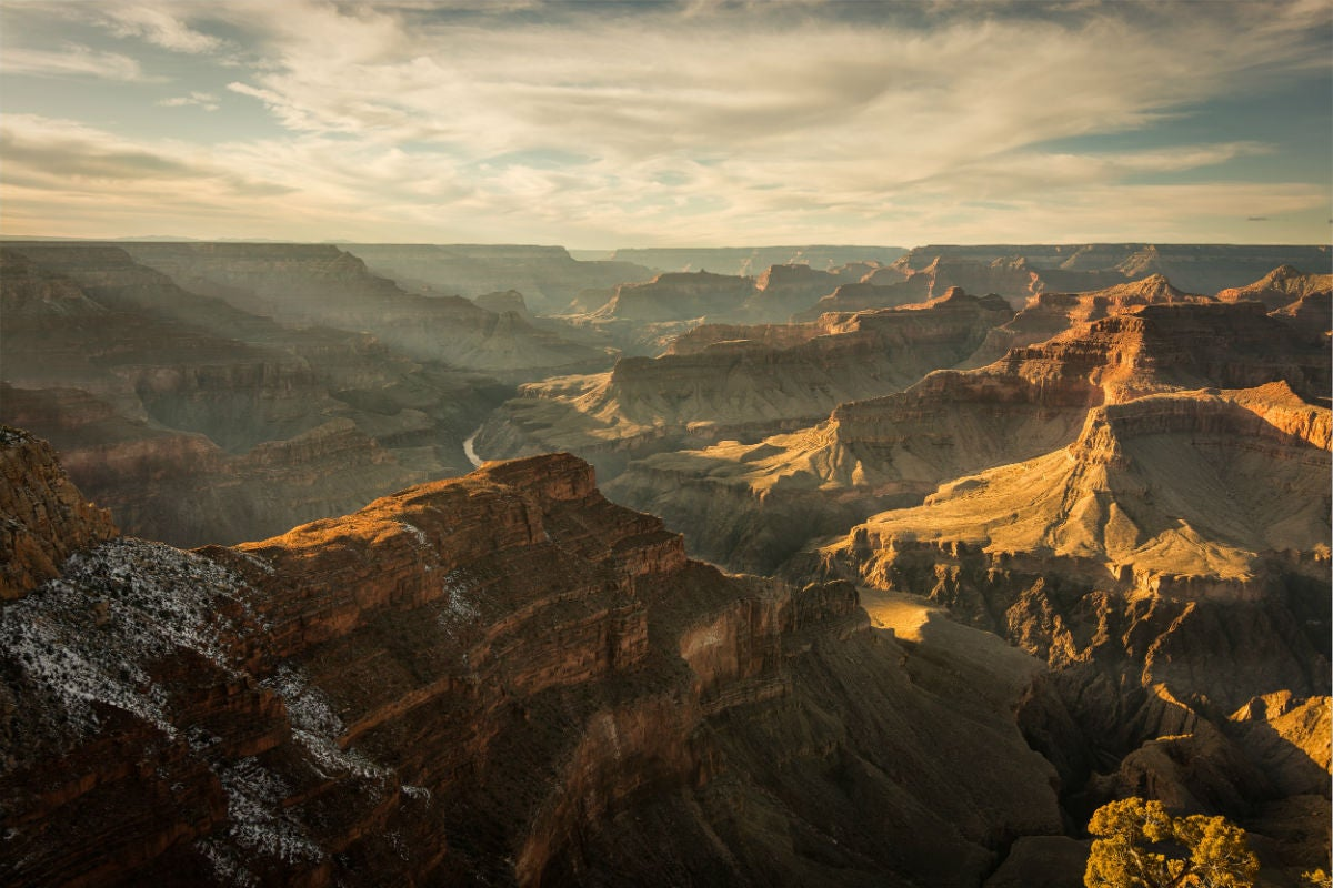 Grand Canyon Camping Overlook