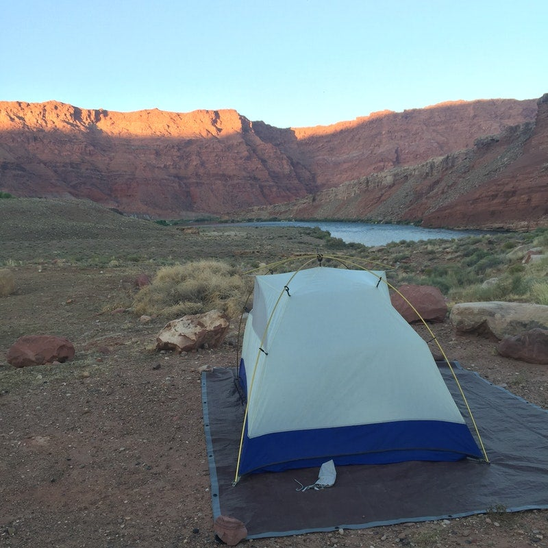 Maddy D's found an awesome spot at one of our favorite campgrounds near rafting opportunities!