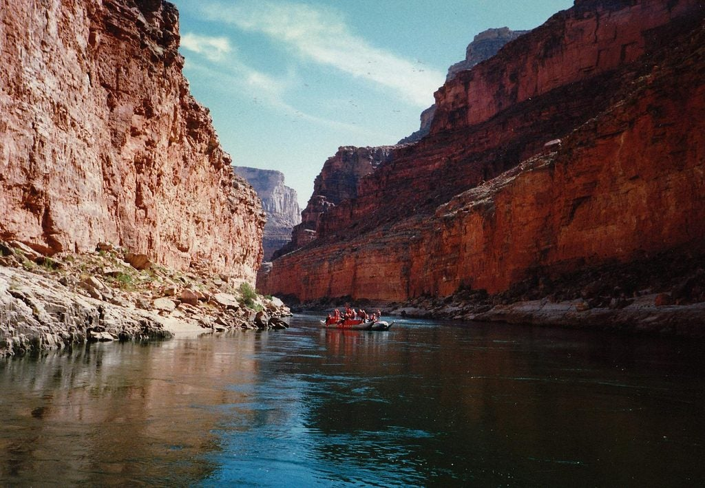rafting the grand canyon river permits