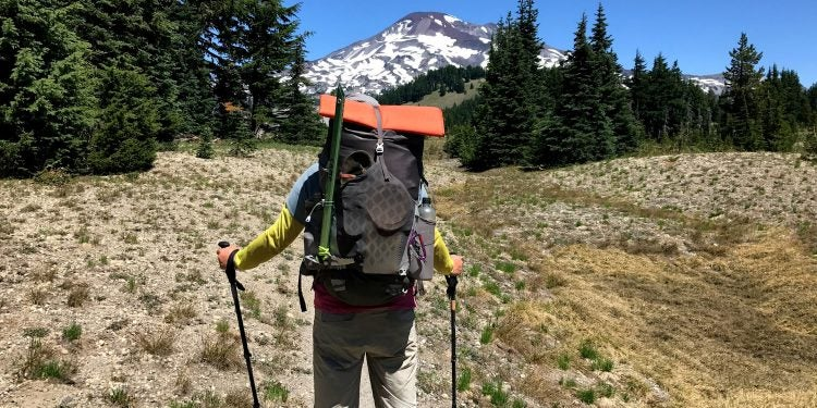 prepare thru-hike