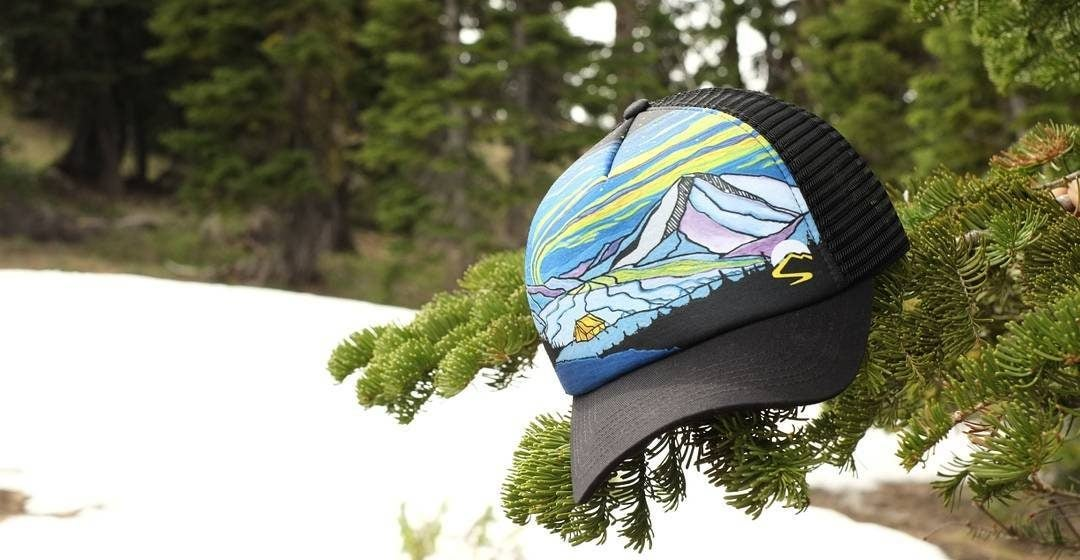 be96f99de92eb Sunday Afternoons Trucker Hats with Hand-Drawn Designs Feel Like One of a  Kind
