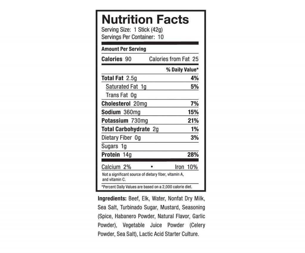 protein snacks nutrition facts