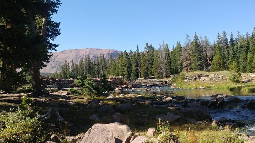 Camping in the West: Spirit Lake