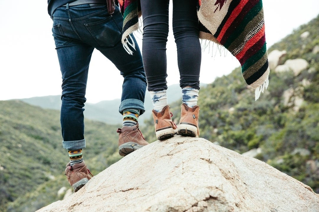 Could you imagine spring camping without lots of socks?
