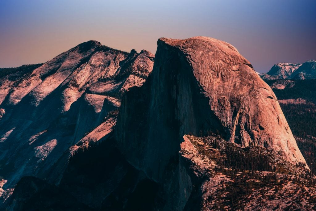 Half Dome permits required