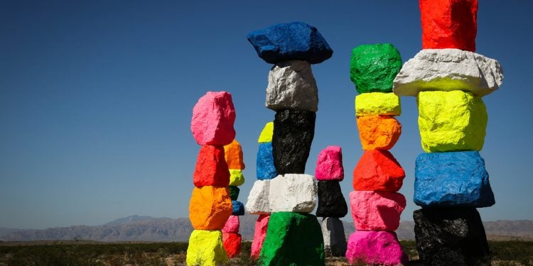recycled art installations
