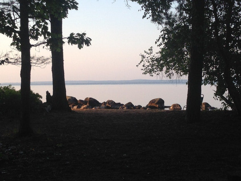 camping on sebago lake in maine