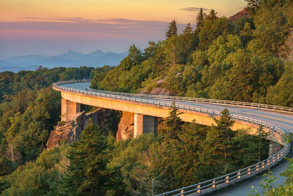 blue ridge parkway camping road trips