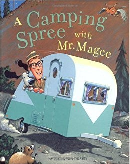 You can find camping books for all ages.