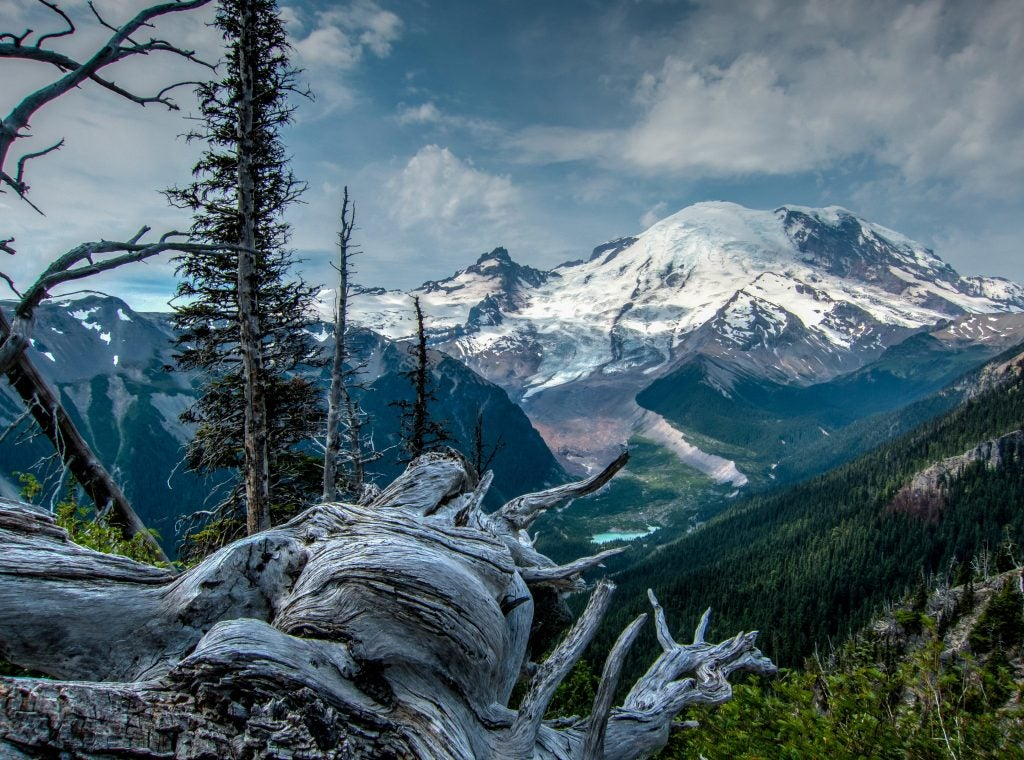 Camping destinations like Mount Rainier have been connected to extraterrestrial conspiracies for decades.